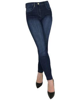 Jeans alla caviglia Virginia Blu CAPARBIA