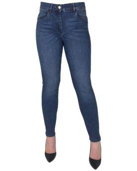 Jeans alla caviglia Virginia Blu FRIVOLA