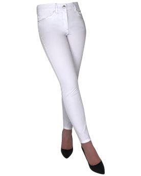 Jeans alla caviglia Virginia Blu RICCA
